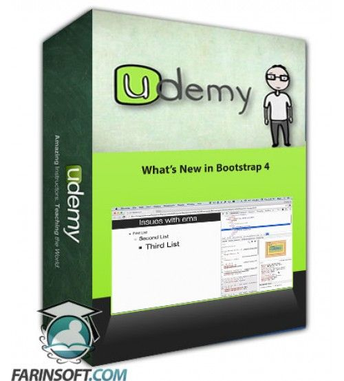 آموزش Udemy Whats New in Bootstrap 4