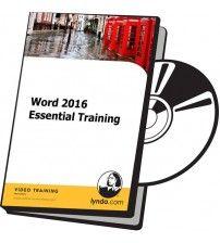دانلود آموزش Lynda Word 2016 Essential Training