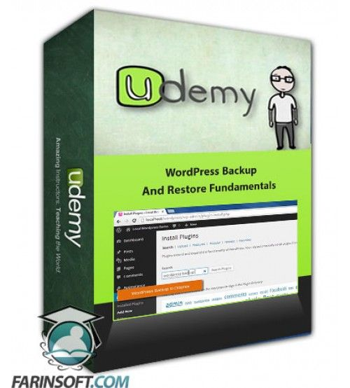آموزش Udemy WordPress Backup And Restore Fundamentals