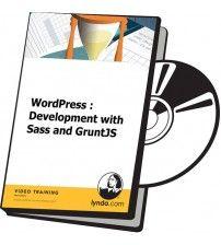 آموزش Lynda WordPress Development with Sass and GruntJS
