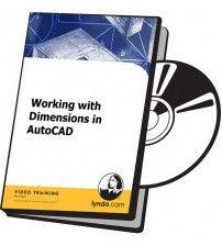 آموزش Lynda Working with Dimensions in AutoCAD