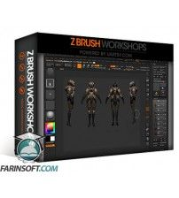 آموزش ZBrush Workshops Detailing And Rigging In ZBrush And 3DS Max