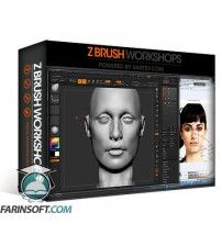 آموزش ZBrush Workshops Female Face Sculpting