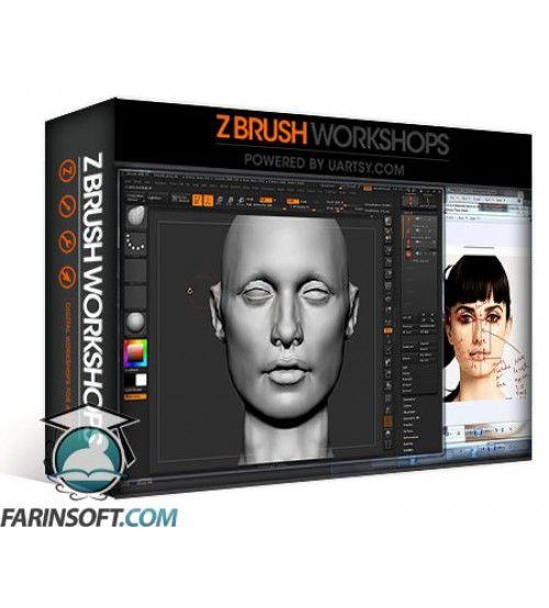 دانلود آموزش ZBrush Workshops Female Face Sculpting