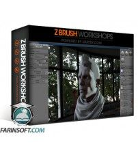 آموزش ZBrush Workshops Texturing A Head In ZBrush And Rendering In Marmoset