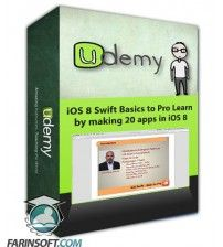 آموزش Udemy iOS 8 Swift Basics to Pro – Learn by making 20 apps in iOS 8