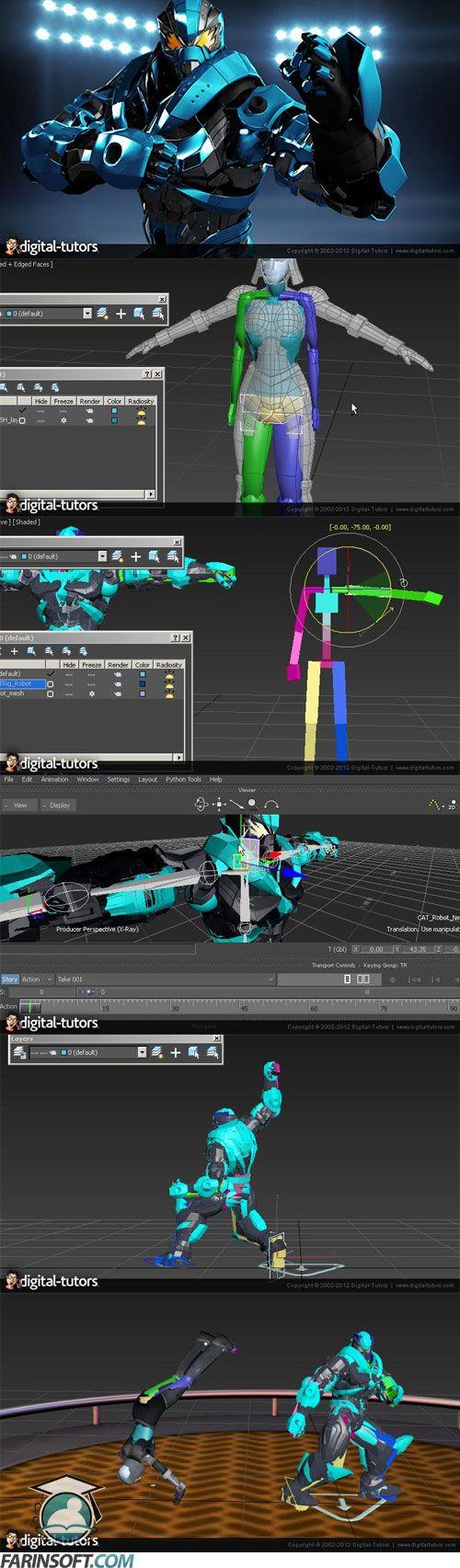 3Ds-Max-to-MotionBuilder-Integration