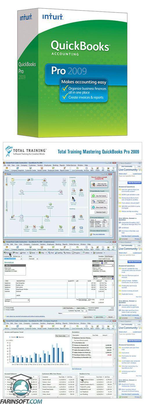 Total-Training-Mastering-QuickBooks-Pro-2009