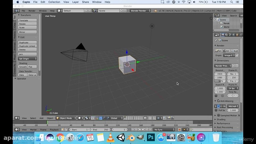 دانلود Udemy The Complete Unity Masterclass: Build 2D, 3D, and VR Games