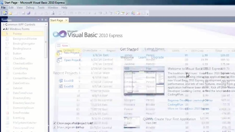 Learning Visual Basic NET A Guide To VBNET Programming