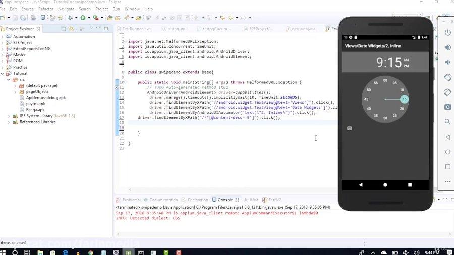 دانلود Udemy Appium(Latest 1 8 2) Mobile Automation Testing from Scratch