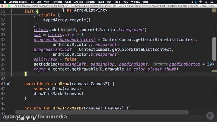 دانلود PluralSight Android Apps with Kotlin: Custom Views